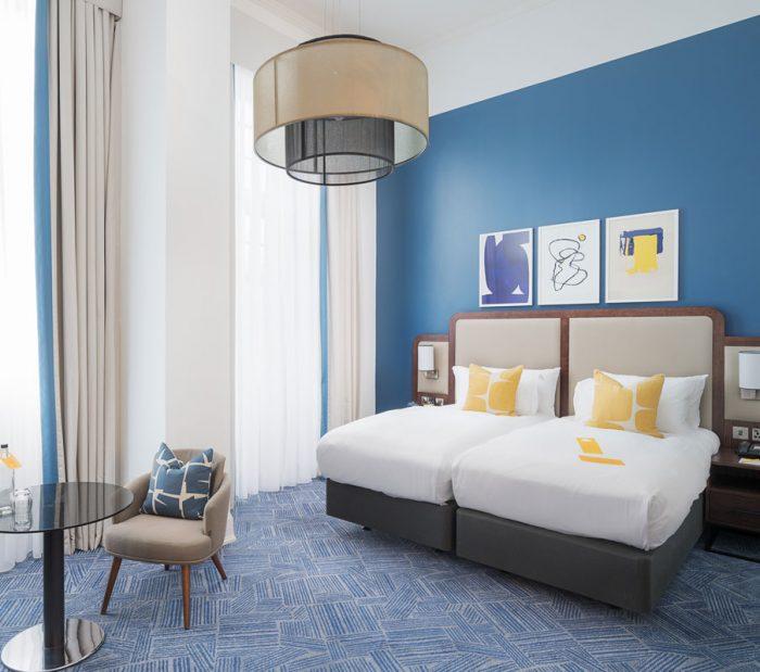Grand Central Glasgow Hotel 2018 Twin Premium Room
