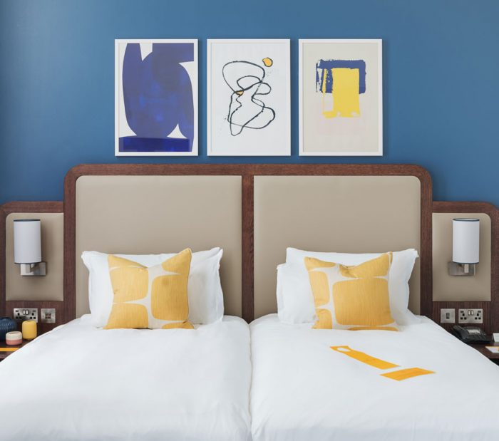 Grand Central Glasgow Hotel Twin Premium Room
